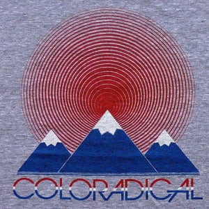 Image of Coloradical Sun Mountain T-Shirt and Tank Top