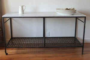 Image of FarmHouseUrban Kitchen Island