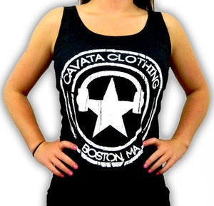 Image of CAVATA Seal Black Tank - Girls