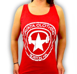 Image of CAVATA Seal Red Tank - Girls