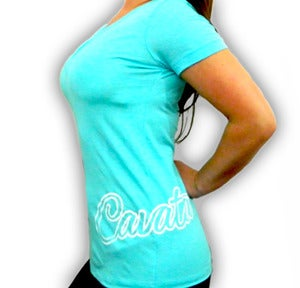 Image of Hip Script V-Neck - Girls