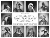 Image of Fowl Fraternity | Poster