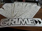 Image of Grime>> Vinyl Stickers