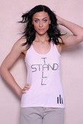 Image of NEW Light Pink Stand Tall Tank