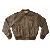 Image of Louis Vuitton LV 'Members Only' Vintage Leather Jacket