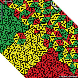 Image of AVALON7 CASCADE RASTA BANDARIL- SNOWBOARD FACEMASK