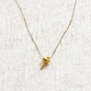 Image of Rattlesnake Vertebra Necklace