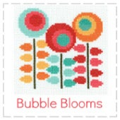Image of Bubble Blooms - Mini Cross Stitch Kits