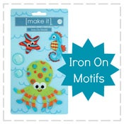 Image of Make It - Iron On Motifs - Under the Sea
