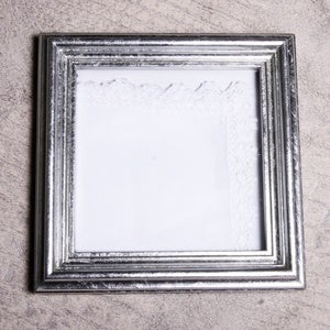 Image of 5x5-inch Frame for Handkerchief and Keepsakes