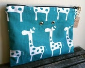 Image of Yarn Pop - Turquoise Giraffes (Double)