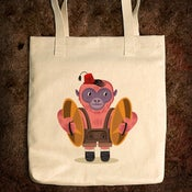 Image of The Monkey Boy - Natural Tote Bag