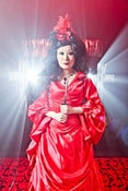 Image of Mina Vampire Gown , Many Color/Fabric Choices