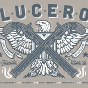 Image of LUCERO Florida Tour Grey