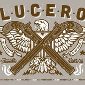 Image of LUCERO Florida Tour Brown