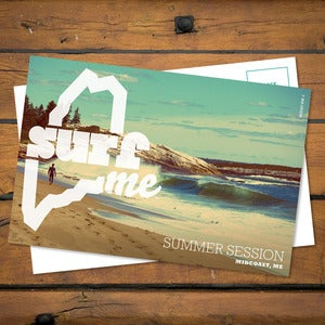 Image of SurfME Postcard