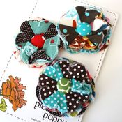 Image of set of 3 posy pins - 789