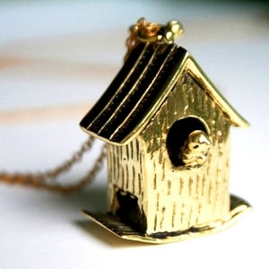 Image of Adorable - A Box for Birds Necklace