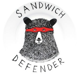 Image of 'Sandwich Defender' Side Plate