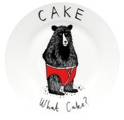 Image of 'What Cake?' Side Plate