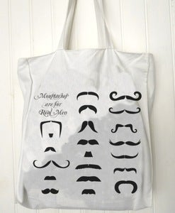 Image of Sac totebag Moustaches