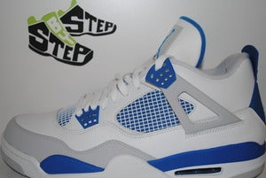 "Image of Air Jordan IV Retro ""Military Blue"" (2012 Release)"