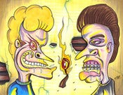 Image of Beavis & Butthead (Yell FIRE!!!)