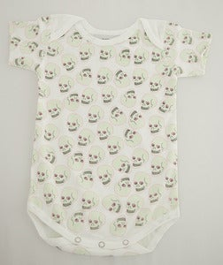 Image of Love Skull Romper White