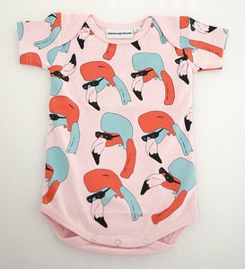 Image of Helmut Romper Pink