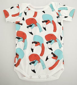 Image of Helmut Romper White