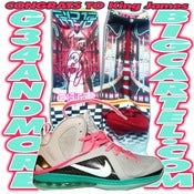 Image of New Custom King Of Miami Lebron Swg Sox