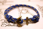 Image of Pulsera Cabo Nudos Azul