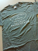 "Image of Baconfest Michigan ""Great Bacon State"" Men's T-Shirt"