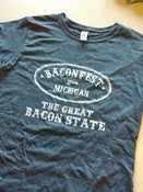 "Image of Baconfest Michigan ""Great Bacon State"" Women's T-Shirt"