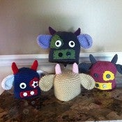 Image of Cow Hat Crochet Pattern PDF 82