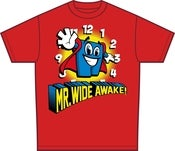 Image of Mr Wide Awake T-Shirt [Red]