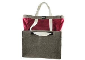 Image of nat-2 X Wolpertinger Jumper Bag grey felt