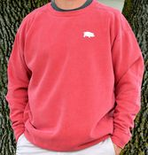Image of Comfort Colors Red Sweatshirt