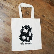Image of Old Monk Tote Bag