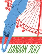 Image of London 2012 Olympics Poster: Aquatics