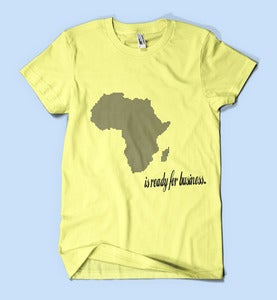 Image of Africa is ready for business