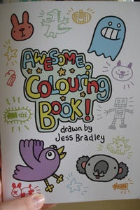 Image of Awesome Colouring Book!