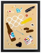 Image of &quot;Filthy Beach&quot; print