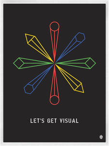 Image of Let's Get Visual Print