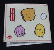 Image of Mr Toast &amp; Buddies Wallet - NEW