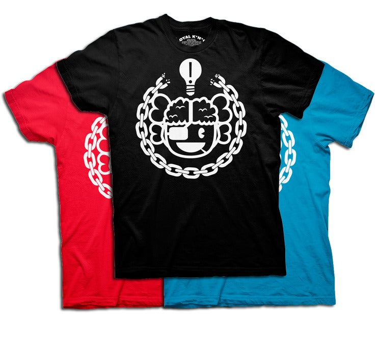 Image of Chain Breaker Atama (Black/Red/Teal)