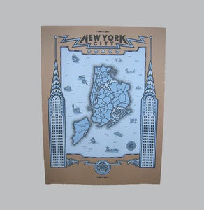 Image of new york city map