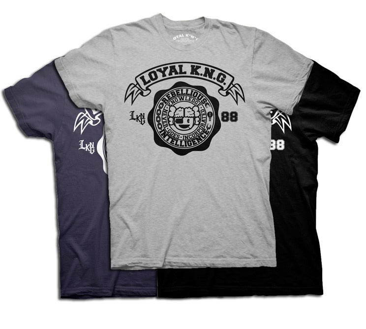 Image of Rebellious Intelligence Seal (Heather Grey/Asphalt/Black)