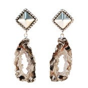 Image of Melanie Earrings- Silver