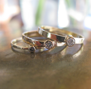 Image of Diamond solitare rings